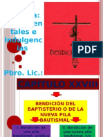 EXPOSICIÓN DEL BENDICONAL