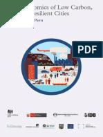 IDB-PUCP-UNALM. 2013. Economía Bajo en Carbono, Ciudades Climáticas Resilientes