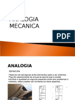 Analogia Mecanica y Gastronomica
