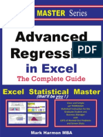 Advanced Regression in Excel S