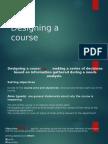 Designing a Course Syllabus in ESP