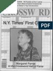 """A Crossword Hall-of-Famer"