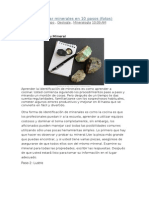 Cómo Identificar Minerales en 10 Pasos
