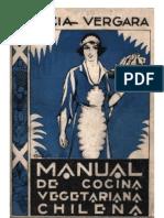 Vergara Lucia - Manual De Cocina Vegetariana Chilena (1931)