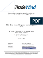 Tradewind Grid Modelling and Power System Data En
