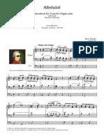 Mozart Alleluia! Fb