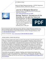 Biology Teachers' Conceptions of the Diversity of Life and the Historical Development of Evolutionary Concepts.pdf