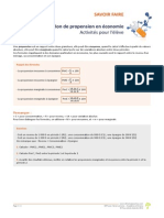 Savoir Faire LaNotionDePropensionEnEconomie