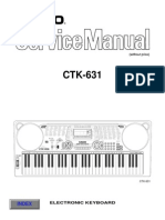 Casio CTK631 Manual de Servicio