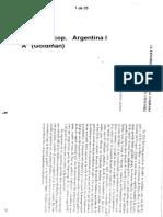 Halperín Donghi, T., La Expansión Ganadera en La Campaña de Buenos Aires (1810-1852), En Desarrollo Económico, 3 (1-2), Buenos Aires, Abril-septiembre