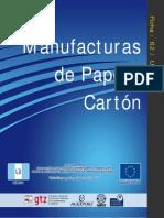 Gt Manufacturas Papel y Carton