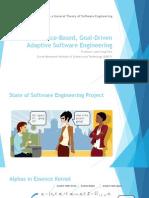 Essence-Based, Goal- Driven Adaptive Software Engineering-Presentation