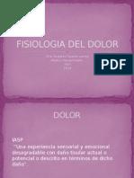Dolor Fisiologia 2013