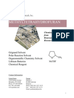 2-Methyltetrahydrofuran Technical Bulletin