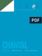 Dossiê Chantal Akerman da revista Devires