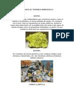 Glosario de Terminos Ambientales