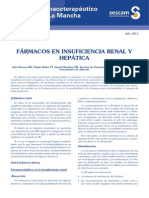Farmacos en Insuficiencia Renal y Hepatica