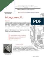 Análisis del Manganeso 25.