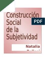 Construccion Social de La Subjetividad