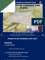 Transito de Vaso en Presas-tacsi