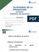Gestion Integral Producción -Control de Gestion 1