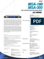 Msa-100-300 Multi Source Analyzer Amt