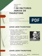 Test de Factores Primarios de Thurstone
