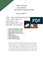 Diarios de Campo Actiidades Circulo de Lectura 4 , 5, 6.