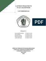 Laporan Praktikum Uji Treshold Fix