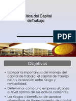 Politica de Capital de Trabajo
