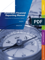 Australian Financial Reporting Manual June 2014