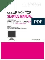 Monitor Lcd Lg l1910p