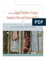 Amartya Sen and Satayajit Ray_The Bengal Famine of 1943
