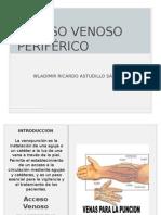 ACCESO VENOSO PERIFÉRICO