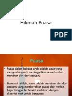 Hikmah Puasa