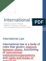 International Law May 22