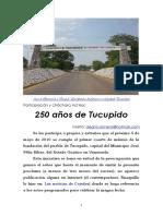 250 años de Tucupido
