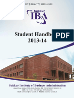 Siba Student Handbook 2013 14 October 01 2013 Updated