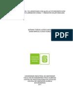 Desempeno Del Tio2 Modificado Con Ag en La Fotodesinfeccion de Agua Bajo Iluminacion Visible