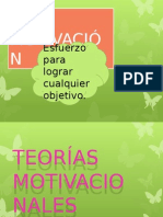 COMPORTAMIENTO - MOTIVACION