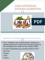 Patogenos Bacterianos en Alimentos