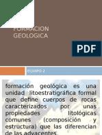 FORMACION GEOLOGICA