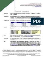 Hoja Tecnica Limpiador C101-A