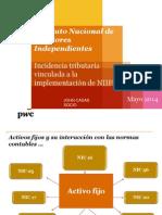 El Impacto de Las Niif en El Aspecto Tributario (Jornada 14 de Mayo)