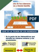 TEORÍA DE LOS NÚMEROS