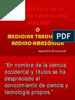 Medicina Tradicional y uso Plantas Medicinales de Sra Jeanette Enmanuel de Peru