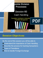 60 Cash Handling