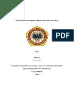 Aspek Keprilakuan Pada Akuntansi Sektor Publik