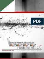 Carta Presentación Mayo 2015