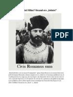 Surprizele Istoriei,Mihai Viteazul Era ''Latinist''